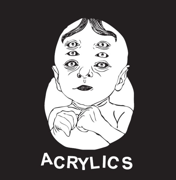 "Acrylics - s/t 12"" - Click Image to Close"