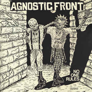 Agnostic Front ‎– No One Rules LP
