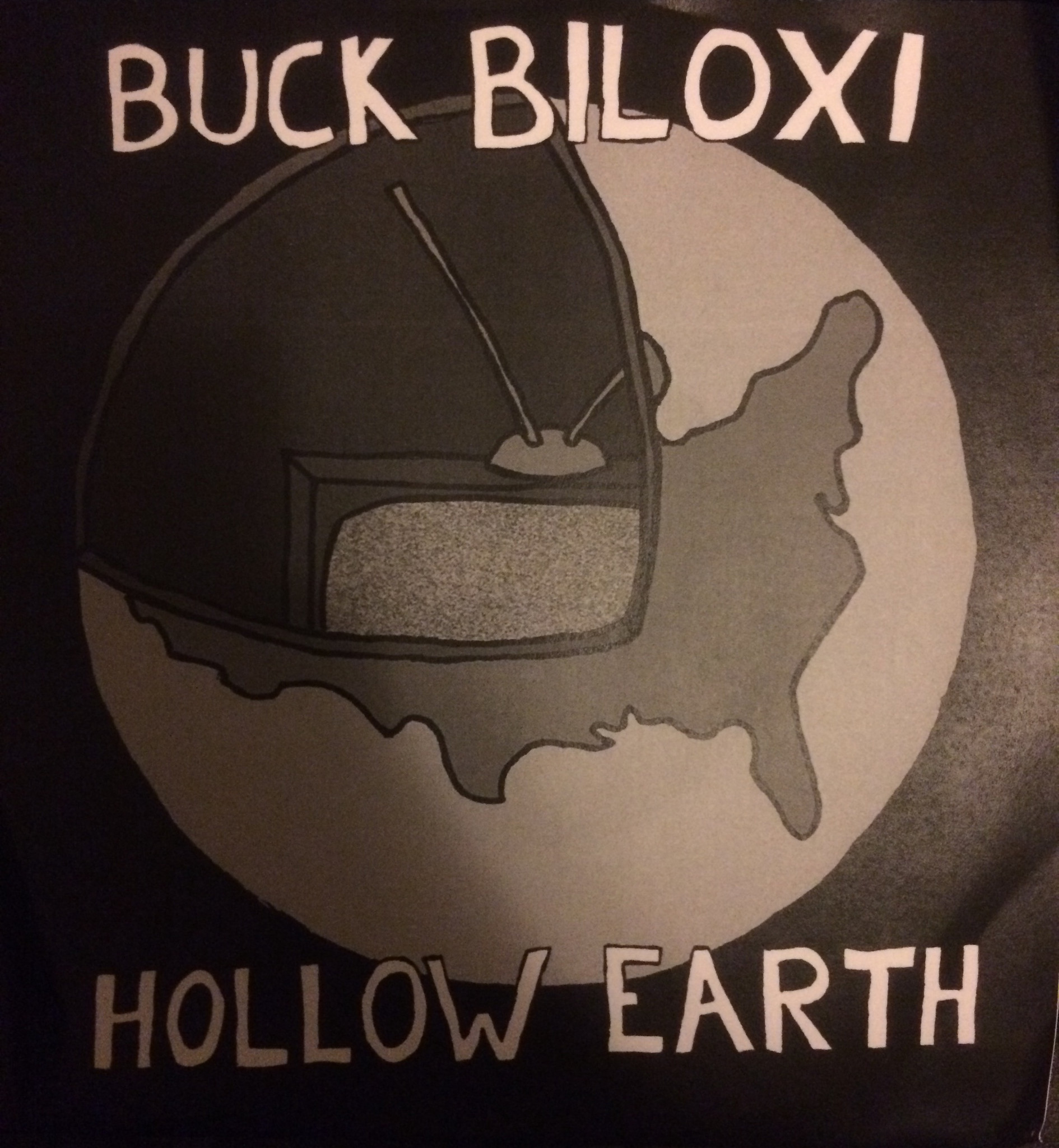 BUCK BILOXI (and the fucks) - Hollow Earth 7""