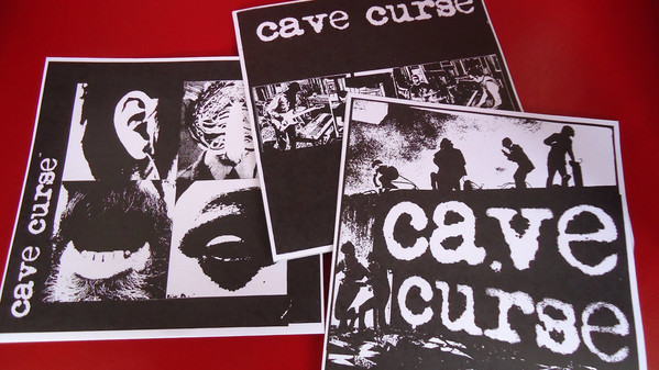 Cave Curse ‎– Buried / Trash People 7""