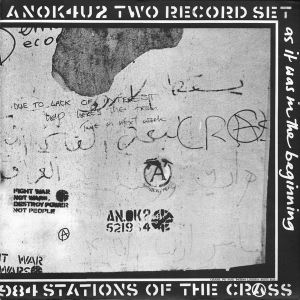 Crass ‎– Stations Of The Crass 2 x LP