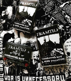 FRAMTID - CONSUMING SHIT AND MIND POLLUTION CS REISSSUE