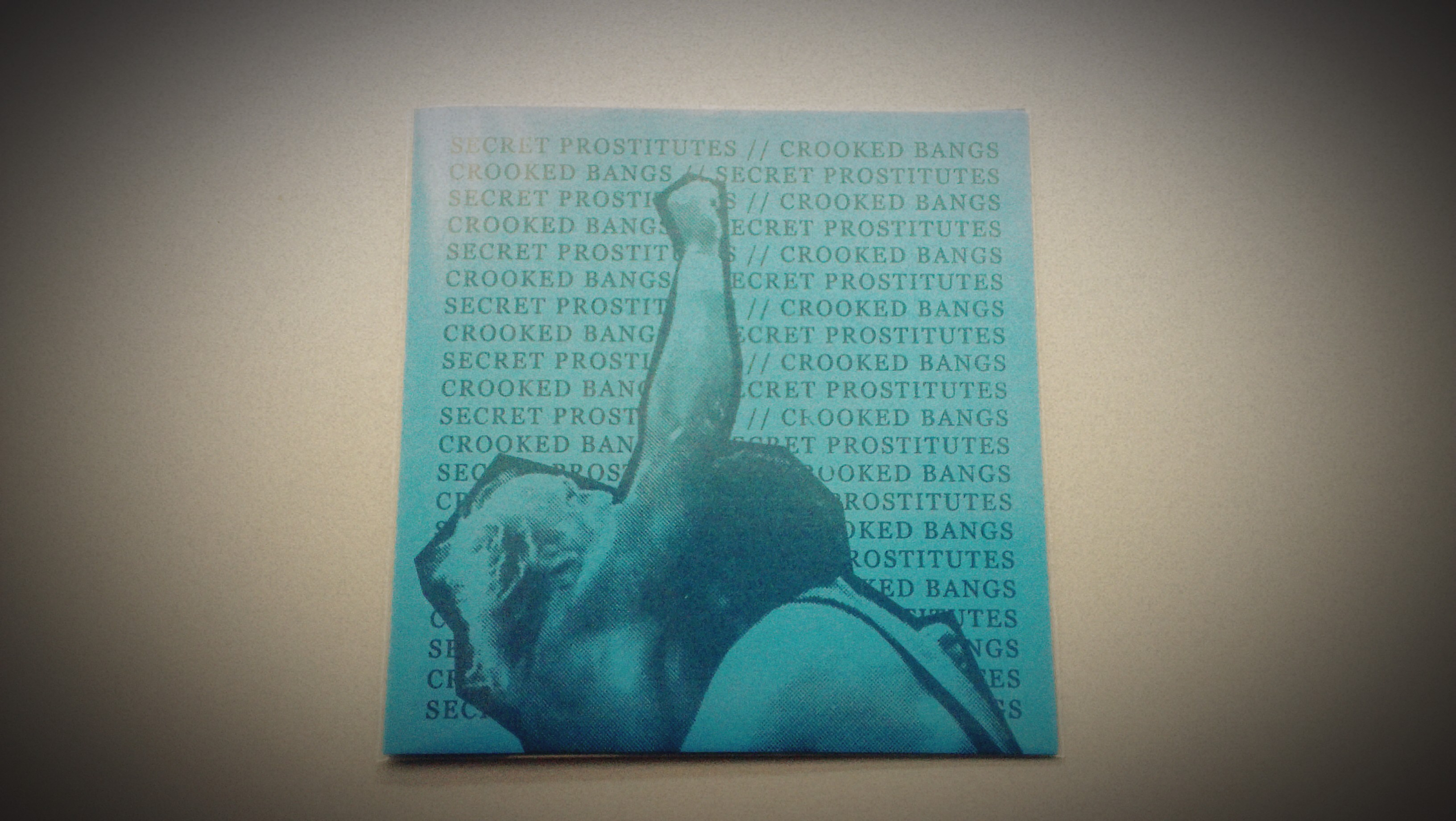 Secret Prostitutes / Crooked Bangs - Split EP Blue Version