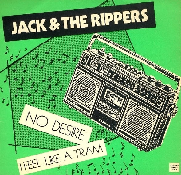 JACK & THE RIPPERS - No Desire 7""
