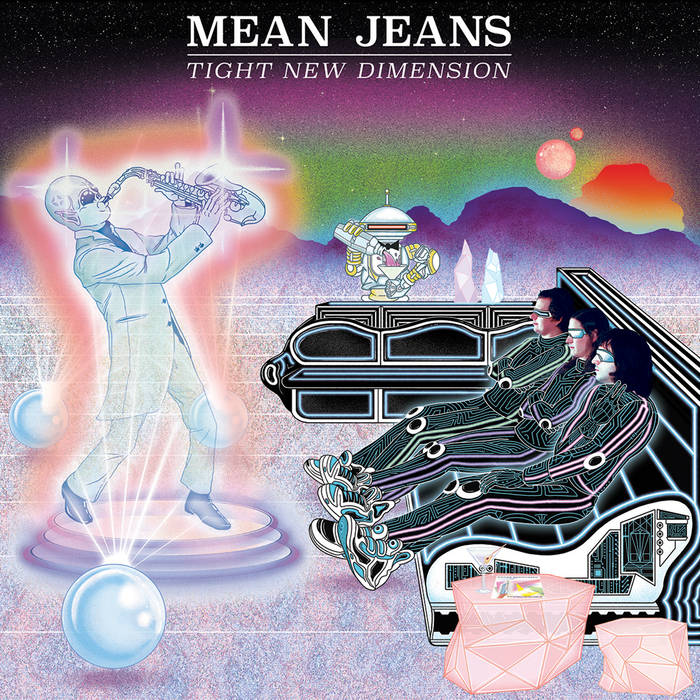 MEAN JEANS - tight new dimension LP