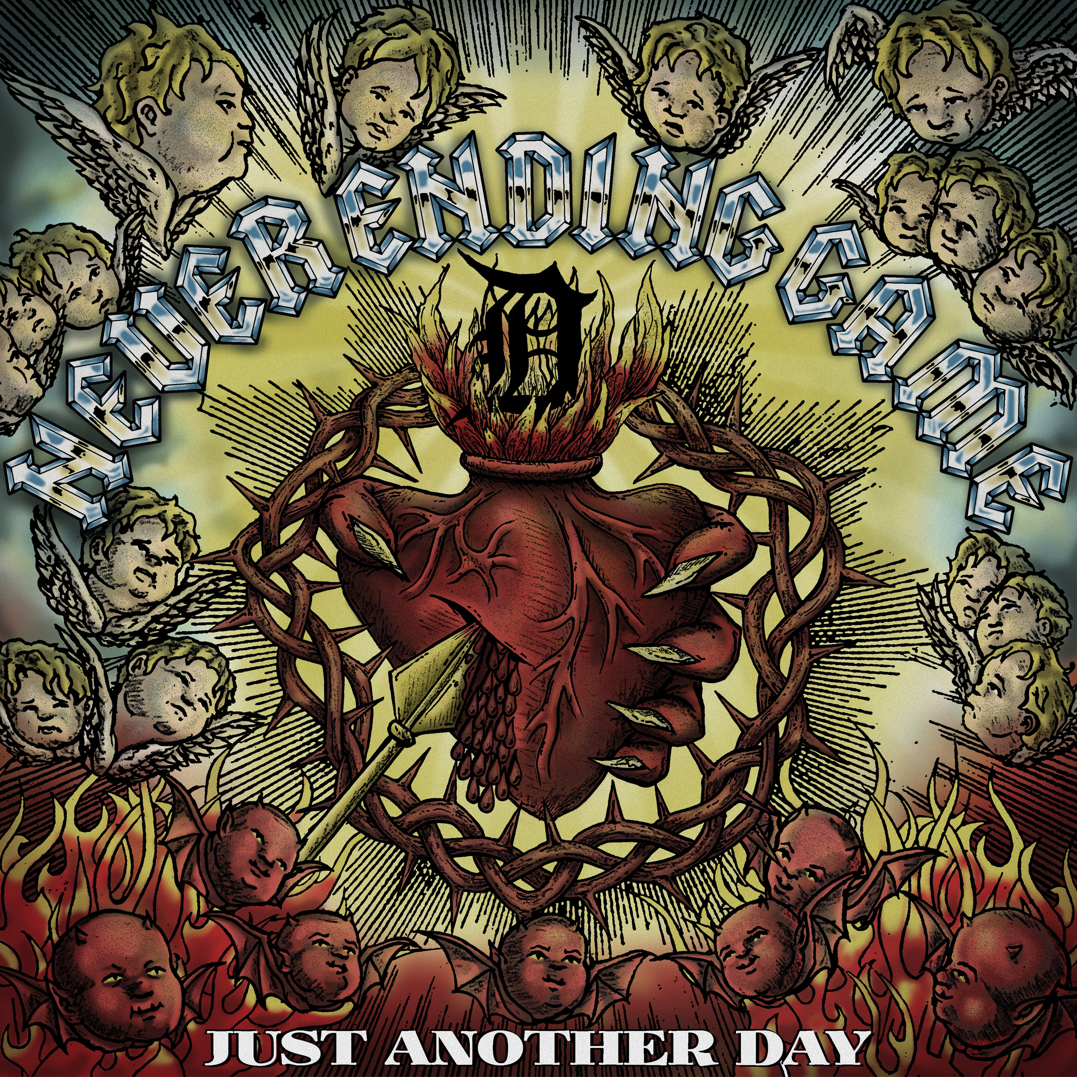 Never Ending Game - Just Another Day LP