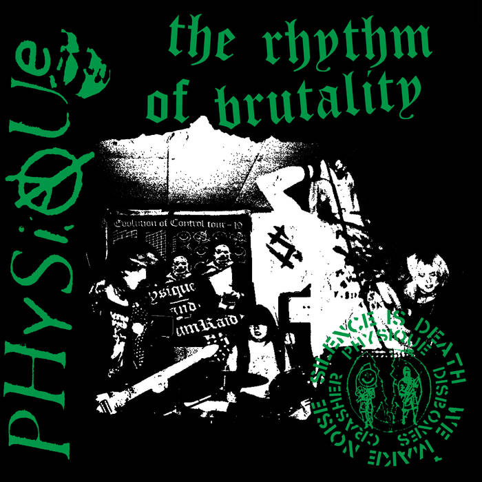 Physique ‎– The Rhythm Of Brutality 12""