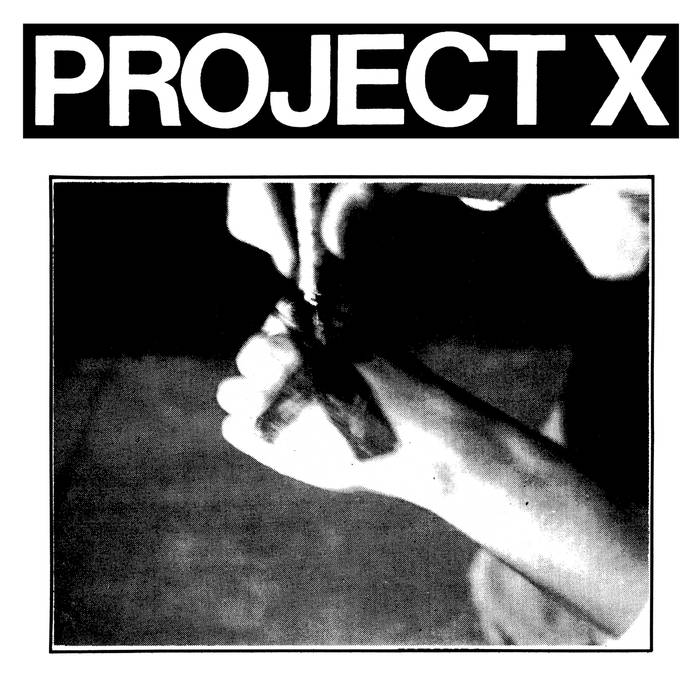 "Project X - ""Straight Edge Revenge"" EP - Click Image to Close"