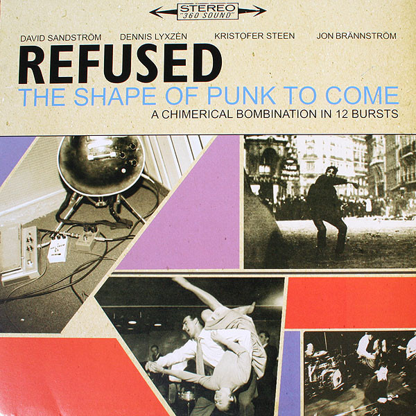Refused ‎– The Shape Of Punk To Come 2 x LP