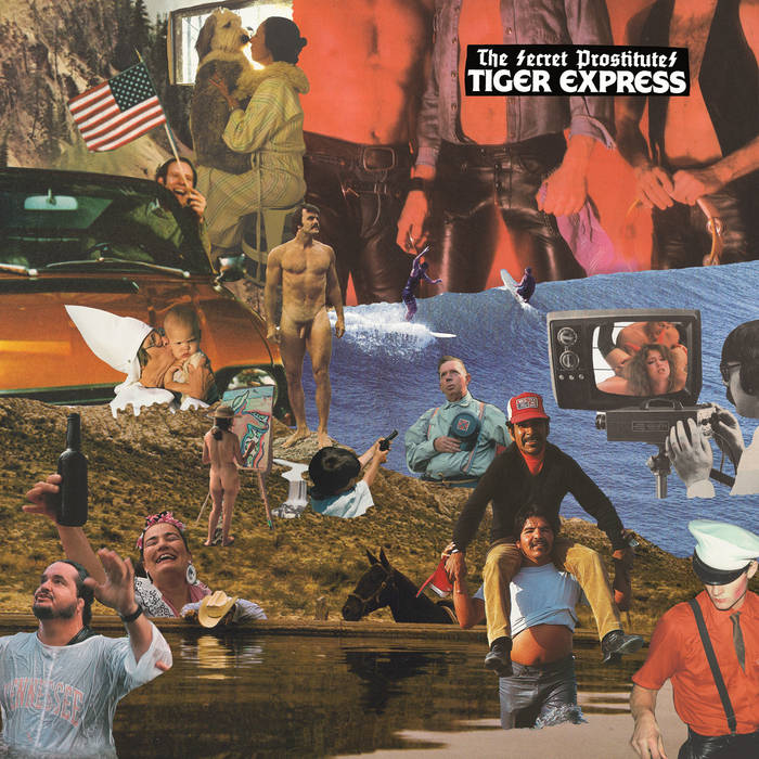 THE SECRET PROSTITUTES - tiger express LP