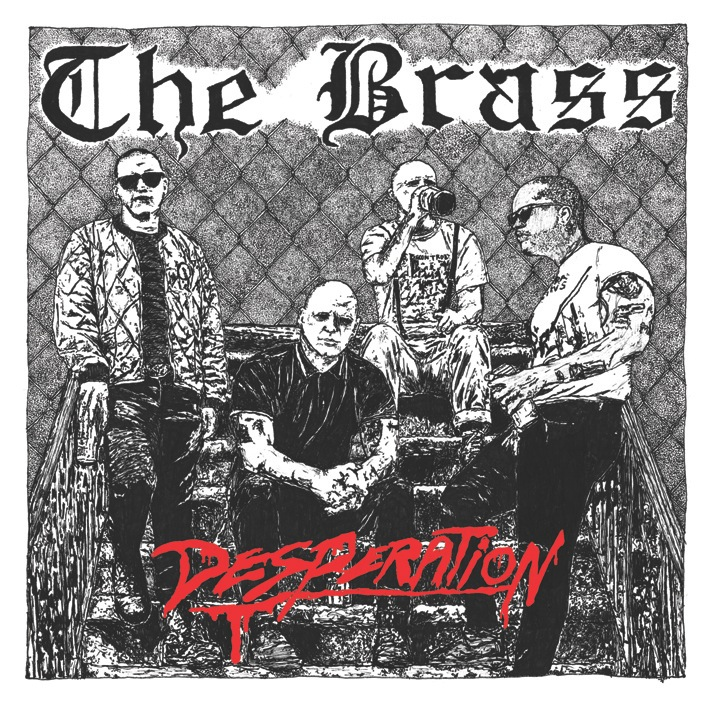 THE BRASS - Desperation 7""