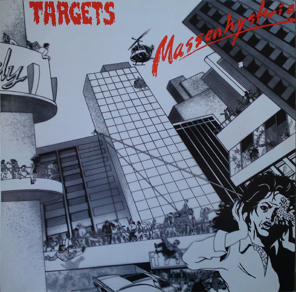 Targets ‎– Massenhysterie LP