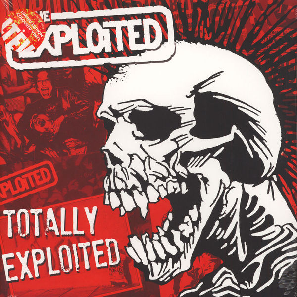 The Exploited ‎– Totally Exploited 2 x LP