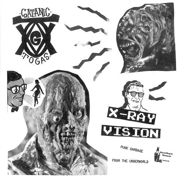 The Satanic Togas ‎– X-Ray Vision