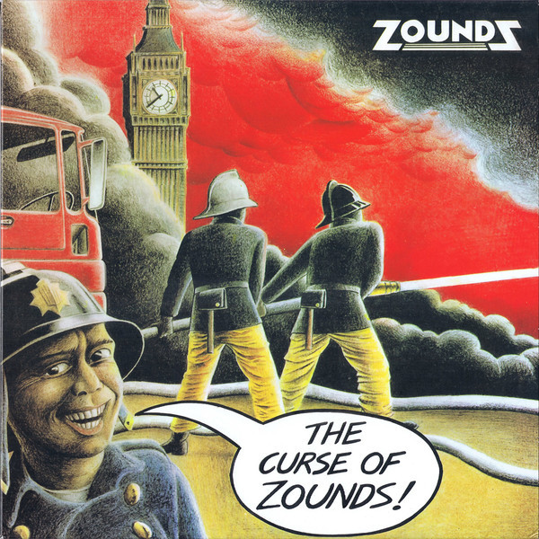 Zounds ‎– The Curse Of Zounds LP