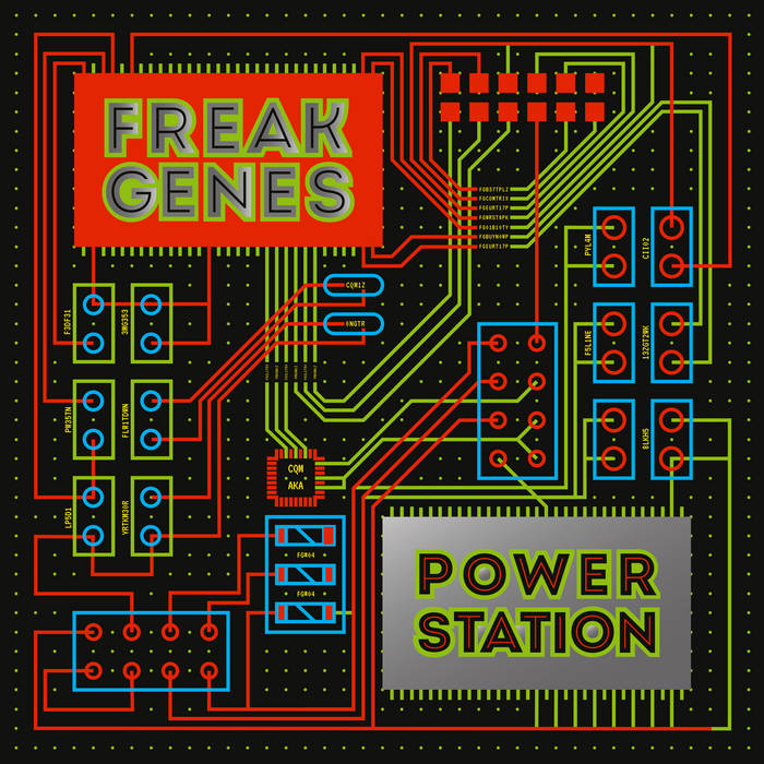 "Freak Genes - ""Power Station"" LP"