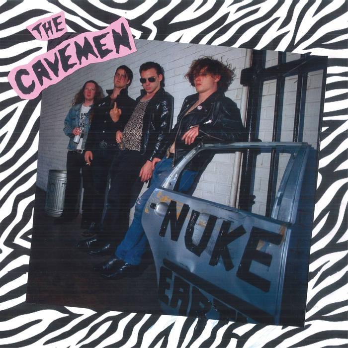 "THE CAVEMEN - ""Nuke Earth"" LP"