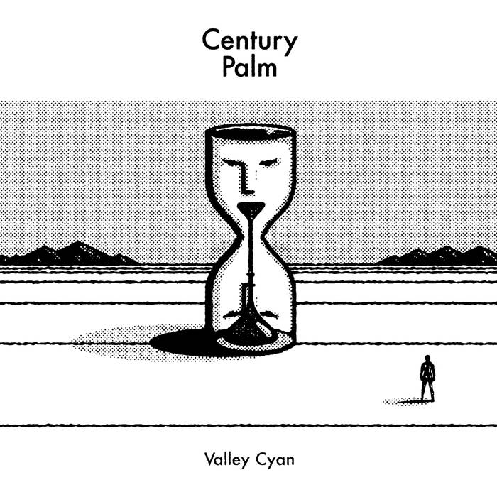 CENTURY PALM 'valley cyan b/w accept' 7""
