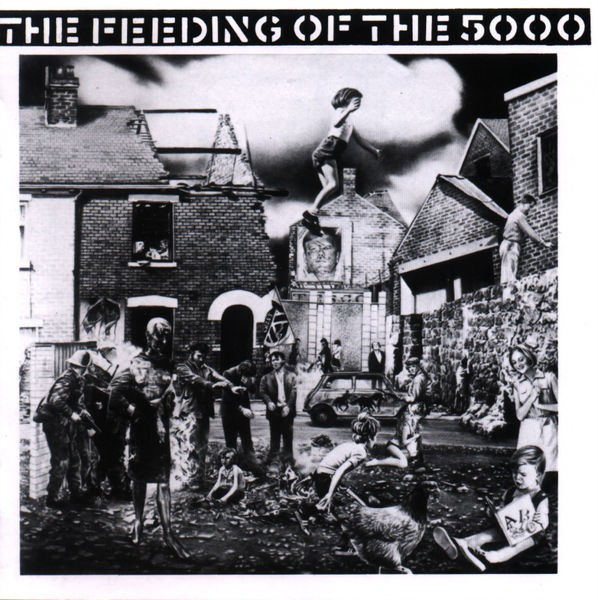 CRASS - Feeding Of The Five Thousand (The Second Sitting) LP
