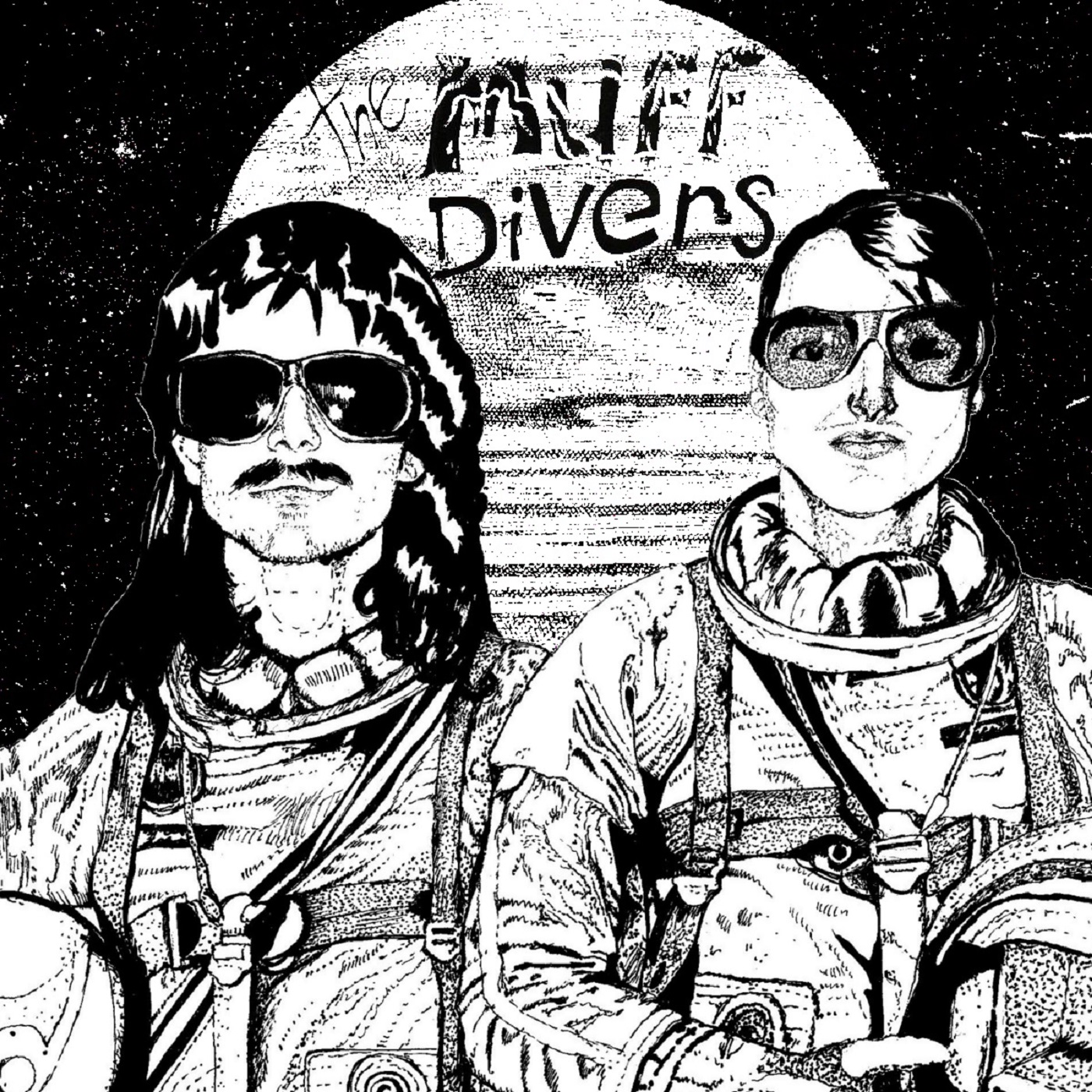 "THE MUFF DIVERS - DREAMS OF THE GENTLEST TEXTURE 12"" - Click Image to Close"
