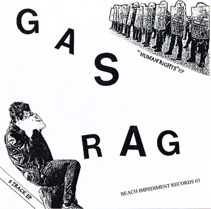 GAS RAG - HUMAN RIGHTS EP