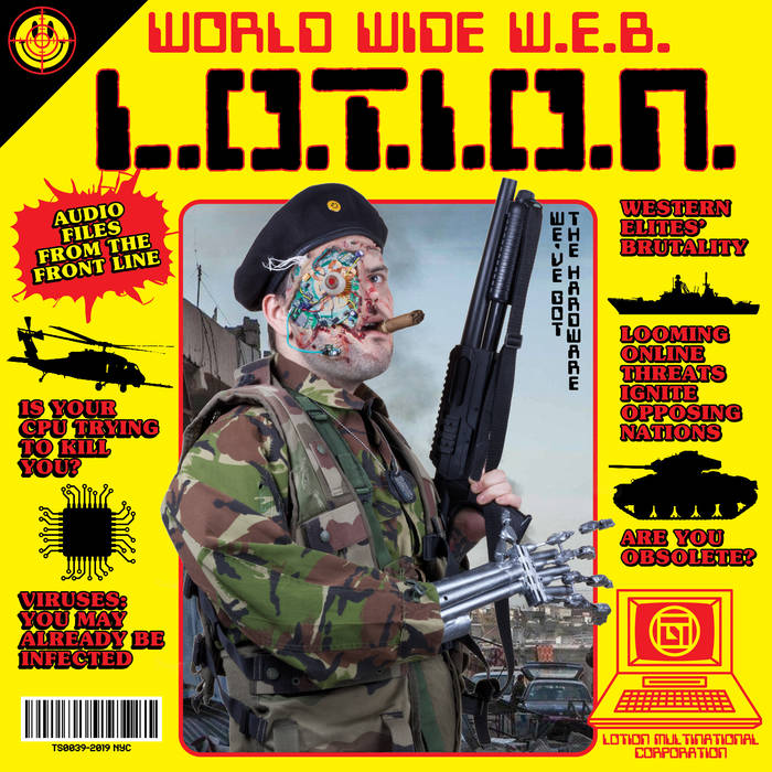 L.O.T.I.O.N – WORLD WIDE W.E.B LP