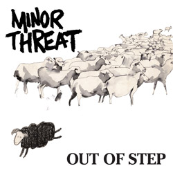 "MINOR THREAT - ""Out of Step"" LP"