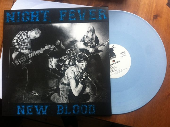 "NIGHT FEVER - ""New blood"" 12"" E.P."