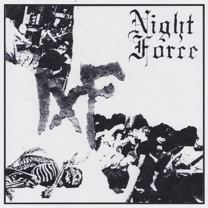 Night Force - 'S/T' 7""