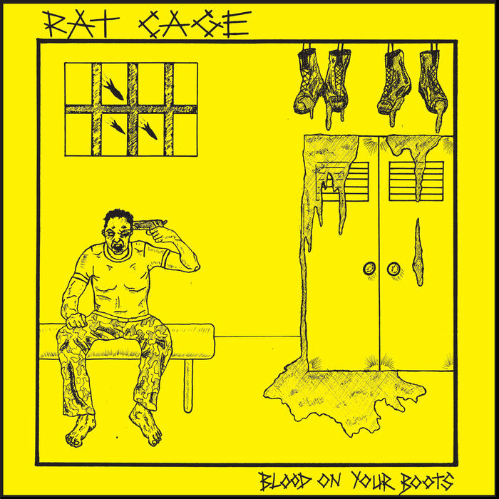 RAT CAGE - Blood on Your Boots 7""