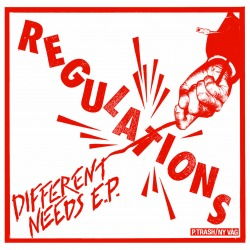 Regulations ‎– Different Needs E.P.