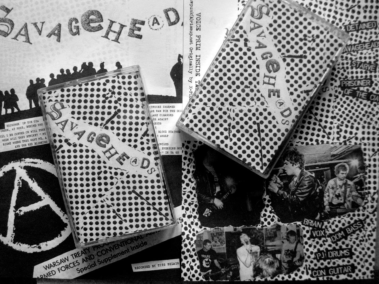 SAVAGEHEADS - DEMO 2013 REISSUE TAPE