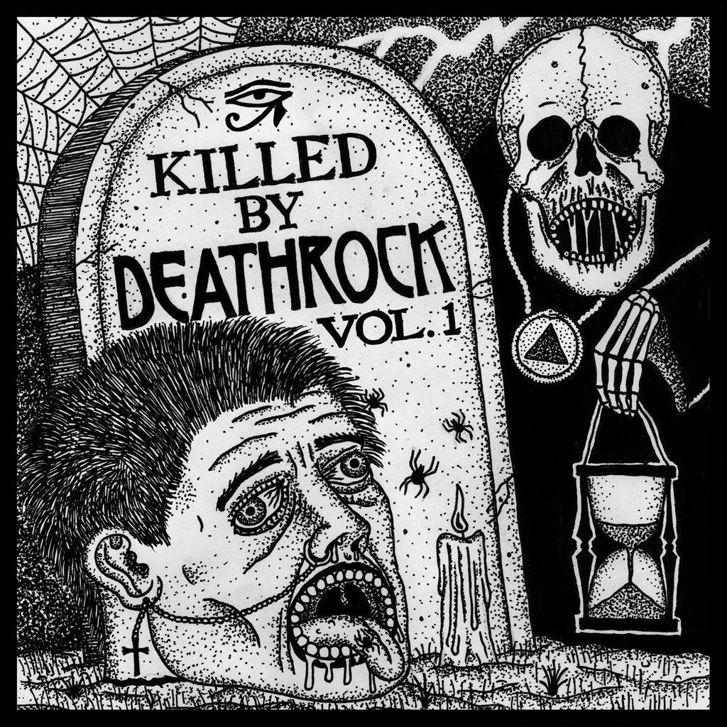 Various Artists - Killed by Deathrock Vol. 1 LP