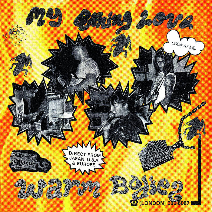 Warm Bodies - My Burning Love 7""